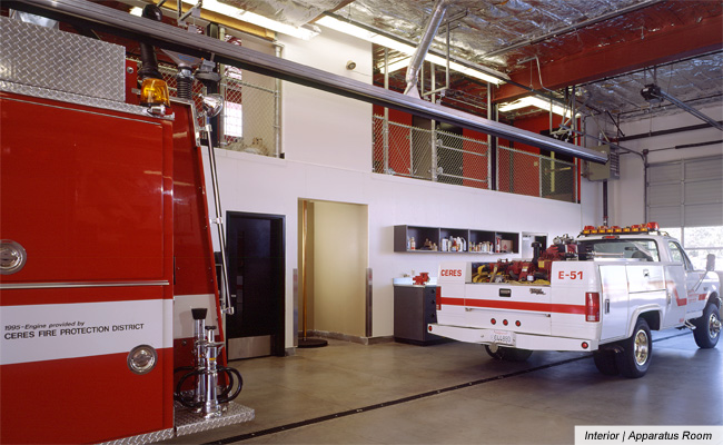Ceres Fire Station No. 1, image 4